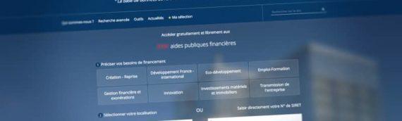 Financement : le nouveau site internet aides-entreprises.fr est en ligne !