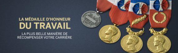 3 Médailles d'Honneur du Travail distribuées cette année à la Sofico