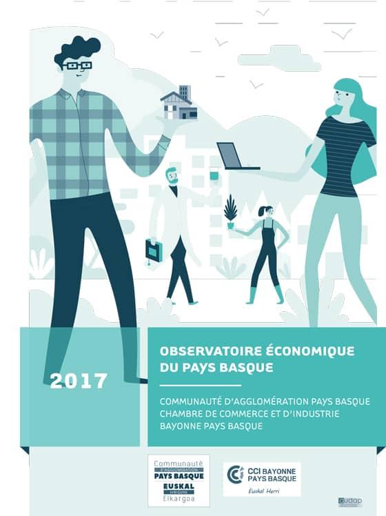#Economie Les Chiffres Clés de l'économie au pays basque 2018
